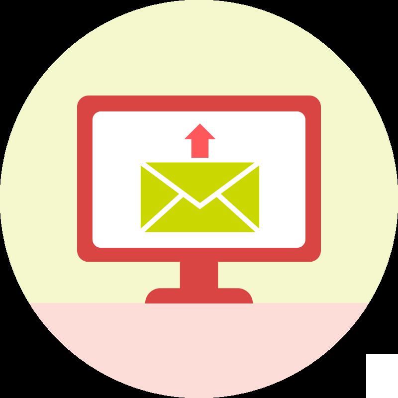 Inviare tramite email